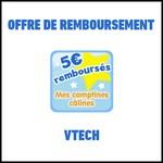 Offre de Remboursement (ODR) VTech : 5€ sur un livre Mes comptines câlines - anti-crise.fr