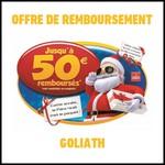 Offre de Remboursement (ODR) Goliath : Jusqu'à 50 € sur les Jeux - anti-crise.fr