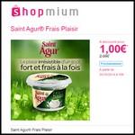 Offre de Remboursement (ODR) Shopmium : Saint Agur® Frais Plaisir à 1 € - anti-crise.fr