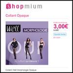 Offre de Remboursement (ODR) Shopmium : Collant Well Morphologie Opaque à 3 € - anti-crise.fr