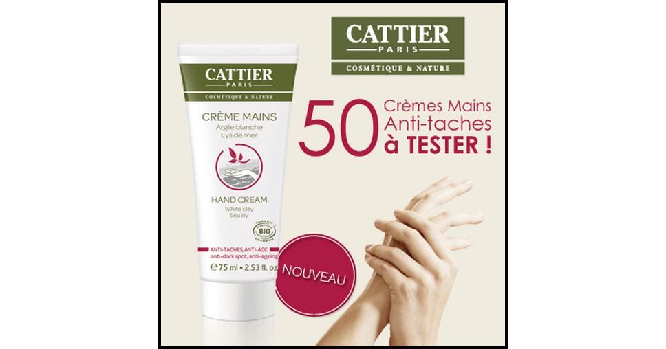 Test de Produit Beauté Test : Crème Mains Anti-taches Anti-âge de Cattier - anti-crise.fr
