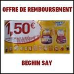 Offre de Remboursement (ODR) Beghin Say : 1,50 € en Bon d'achat pour 2 produits achetés - anti-crise.fr