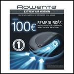 Offre de Remboursement (ODR) Rowenta : Jusqu'à 100 € sur aspirateur robot Extrem' Air Motion - anti-crise.fr