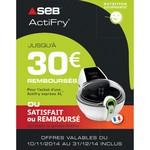 Offre de Remboursement (ODR) Seb : Jusqu'à 30 € sur Actifry Express XL - anti-crise.fr