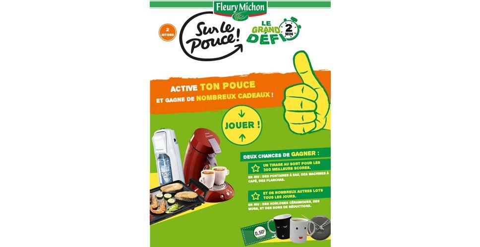 Instants Gagnants + Tirage au Sort Fleury Michon sur Facebook : Machine à Café Senseo et Bons de Réduction à Gagner - anti-crise.fr