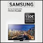Offre de Remboursement (ODR) Samsung : Jusqu'à 150 € sur Téléviseur HU6900 - anti-crise.fr