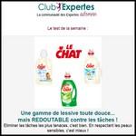 Test de Produit Au Féminin : Lessive le Chat - anti-crise.fr