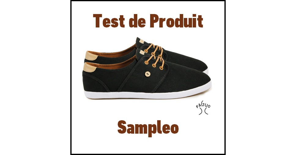 Test de Produit Sampleo : Chaussure phare de FAGUO - anti-crise.fr