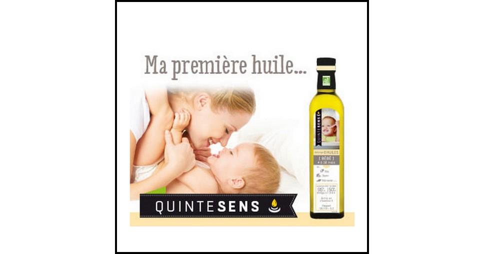 Test de Produit Conso Baby : Huile bébé Bio Quintesens - anti-crise.fr