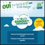 Tirage au Sort Bleu-Blanc-Coeur sur Facebook : 1 banquet pour 101 personnes à Gagner - anti-crise.fr