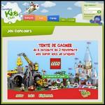 Tirage au Sort Carrefour kids Club : « La mine » LEGO City ou « Le château de Cendrillon » LEGO Disney Princess à Gagner - anti-crise.fr