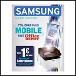 Bon Plan Samsung : Un multifonction + 2 Toners achetés = un Smartphone Samsung Trend Plus Offert - anti-crise.fr