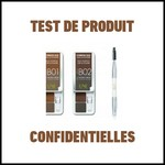 Test de Produit Confidentielles : Eyebrow duo Wax & powder d'Une natural beauty - anti-crise.fr