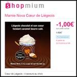 Offre de Remboursement (ODR) Shopmium : Mamie Nova Cœur de Liégeois à 0,50 € - anti-crise.fr