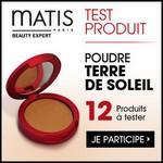 Test de Produit Betrousse : Poudre Terre de Soleil de Matis - anti-crise.fr