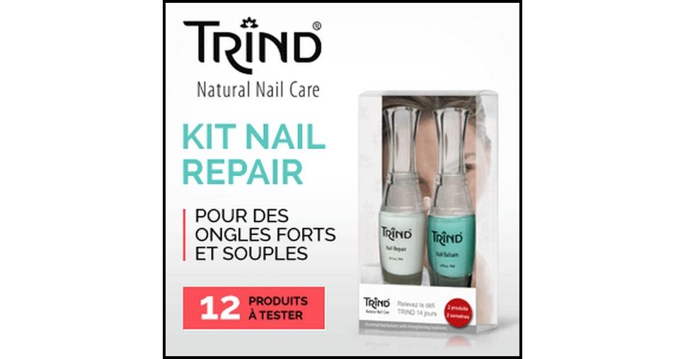 Test de Produit Betrousse : Kit Nail Repair Naturel / Balsam Trind - anti-crise.fr