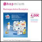 Offre de Remboursement (ODR) Shopmium : Canard® Fresh Disc® Recharges Active Eucalyptus à 4 € - anti-crise.fr