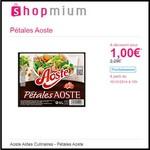 Offre de Remboursement (ODR) Shopmium : Pétales Aoste à 1€ - anti-crise.fr