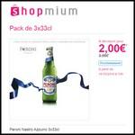 Offre de Remboursement (ODR) Shopmium : Peroni Nastro Azzurro 3x33cl à 2 € - anti-crise.fr