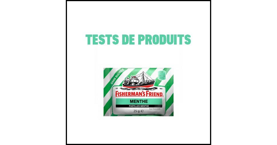 Tests de Produits : Pastilles menthe de Fisherman's Friend - anti-crise.fr