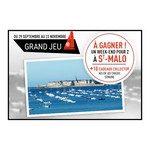 Tirage au sort Bruneau Week end pour 2 à Saint-Malo à gagner 2