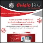 Offre de Remboursement (ODR) Kitchen Cook : 60 € sur Cuisio Pro - anti-crise.fr