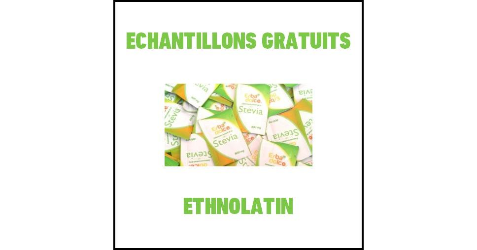 Echantillons Gratuits Ethnolatin : 10 sachets d'Erba Dolce Stévia - anti-crise.fr