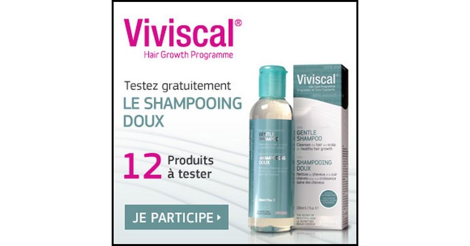 Test de Produit Betrousse : Shampooing Doux Viviscal - anti-crise.fr