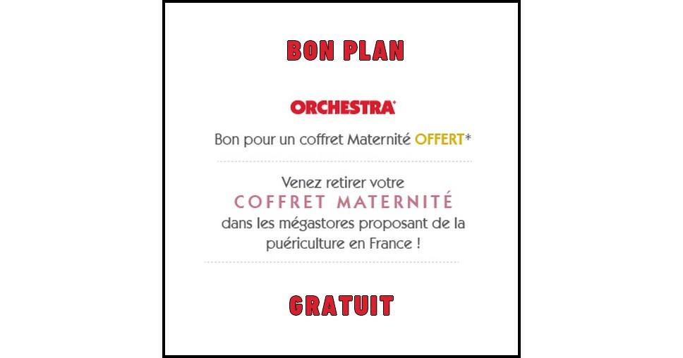 Bon Plan Orchestra : Coffret naissance Offert aux jeunes ou Futures Mamans - anti-crise.fr