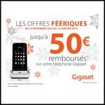Offre de Remboursement (ODR) Gigaset : Jusqu'à 50 € sur Téléphone - anti-crise.fr