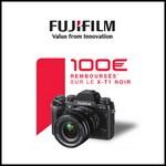 Offre de Remboursement (ODR) Fujifilm : 100 € sur les Appareils Photo Numériques X-T1 noir - anti-crise.fr