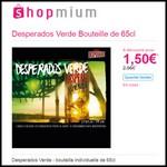 offre de Remboursement (ODR) Shopmium : Desperados Verde Bouteille de 65cl à 1,50 € - anti-crise.fr