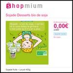 Offre de Remboursement (ODR) Shopmium : Sojade Desserts Bio fruits – Le pot 400g 100 % Remboursés - anti-crise.fr