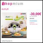 Offre de Remboursement (ODR) Shopmium : 30 € sur Actifry® Express XL - anti-crise.fr