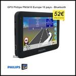 Offre de Remboursement (ODR) Philips Car : 10 € sur GPS PNS410BT - anti-crise.fr