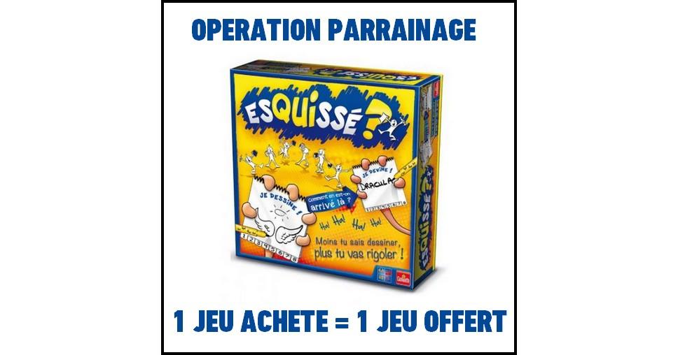 Bon Plan Goliath : 1 Jeu Esquissé acheté = 1 Jeu Esquissé Offert à l'un de vos proches - anti-crise.fr