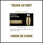 Tirage au Sort Corine de Farme : Eau de Toilette Lady Glam - anti-crise.fr