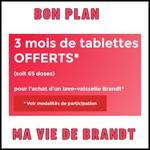 Bon Plan Ma Vie de Brandt : 3 mois de Tablettes Offerts - anti-crise.fr