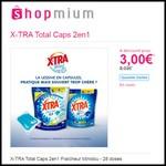 Offre de Remboursement (ODR) Shopmium : X-TRA Total Caps 2en1 Fraîcheur Minidou - 28 doses à 3 € - anti-crise.fr