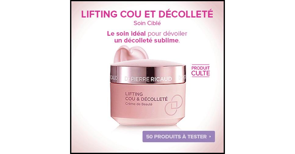 Test de Produit Beauté Test : Lifting Cou et Décolleté Crème de Beauté de Dr Pierre Ricaud - anti-crise.fr