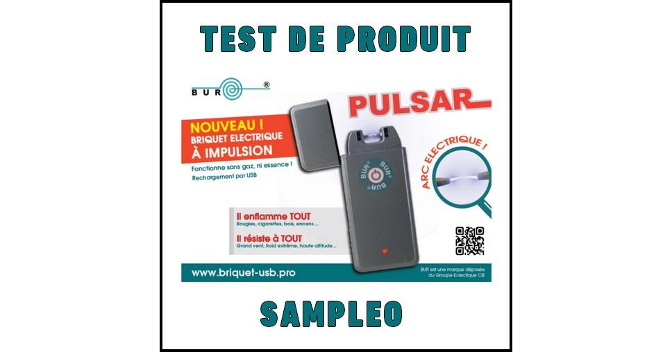 Test de Produit Sampleo : Briquets à arc électrique rechargeables par USB Bur - anti-crise.fr