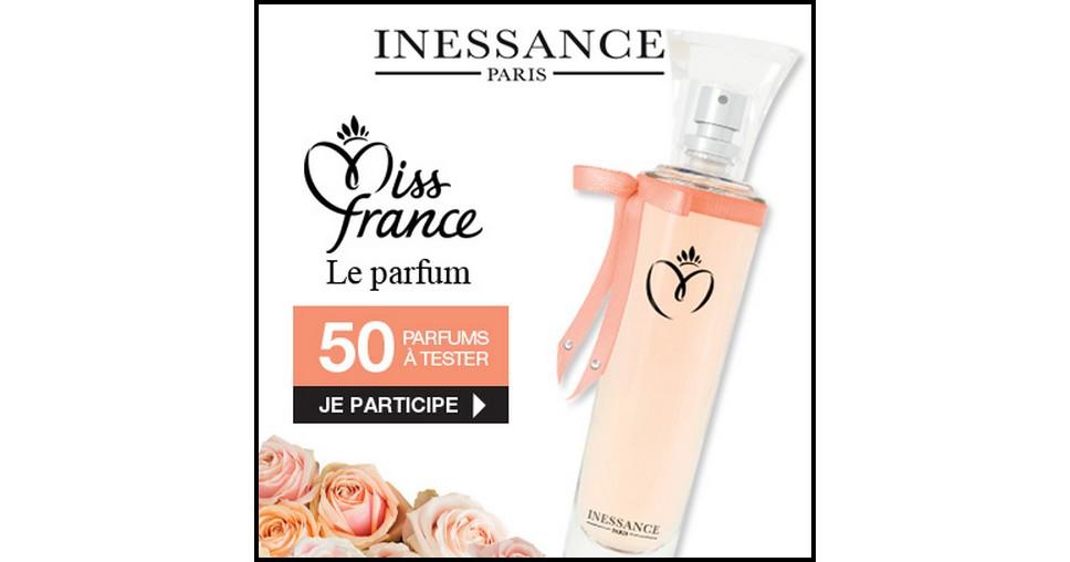 Test de Produit Beauté Test : Parfum Elégance - Miss France de Inessance - anti-crise.fr