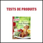 Tests de produits : Sauce aux trois poivres de Knorr - anti-crise.fr