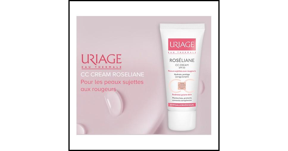 Test de Produit Beautistas : CC Cream Roséliane d'Uriage - anti-crise.fr