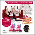 Offre de Remboursement (ODR) LG : Jusqu'à 150 € sur Smartphone LG G3 ou LG G3S et ses accessoires - anti-crise.fr