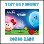 Test de Produit Conso Baby : Lumilove Monsieur Madame Pabobo - anti-crise.fr