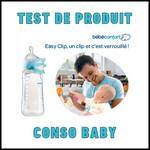 Test de Produit Conso Baby : Biberon Easy Clip Bébé Confort - anti-crise.fr