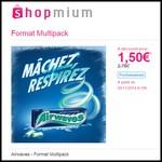 Offre de Remboursement (ODR) Shopmium : Airwaves - Format Multipack à 1,50 € - anti-crise.fr