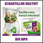 Echantillon Gratuit Bio Info : Fruits & Fibres, transit facile Ortis - anti-crise.fr