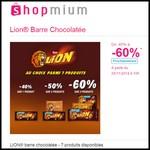 Offre de Remboursement (ODR) Shopmium : LION® barre chocolatée jusqu'à - 60 % - anti-crise.fr